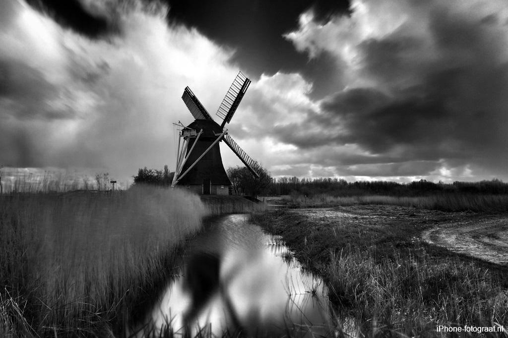 iPhone zwart-wit fotografie