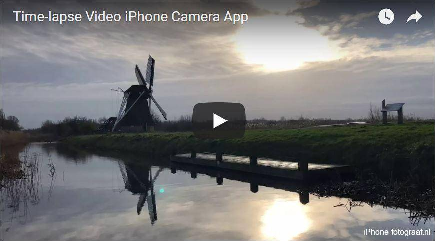 iPhone Time-lapse mode