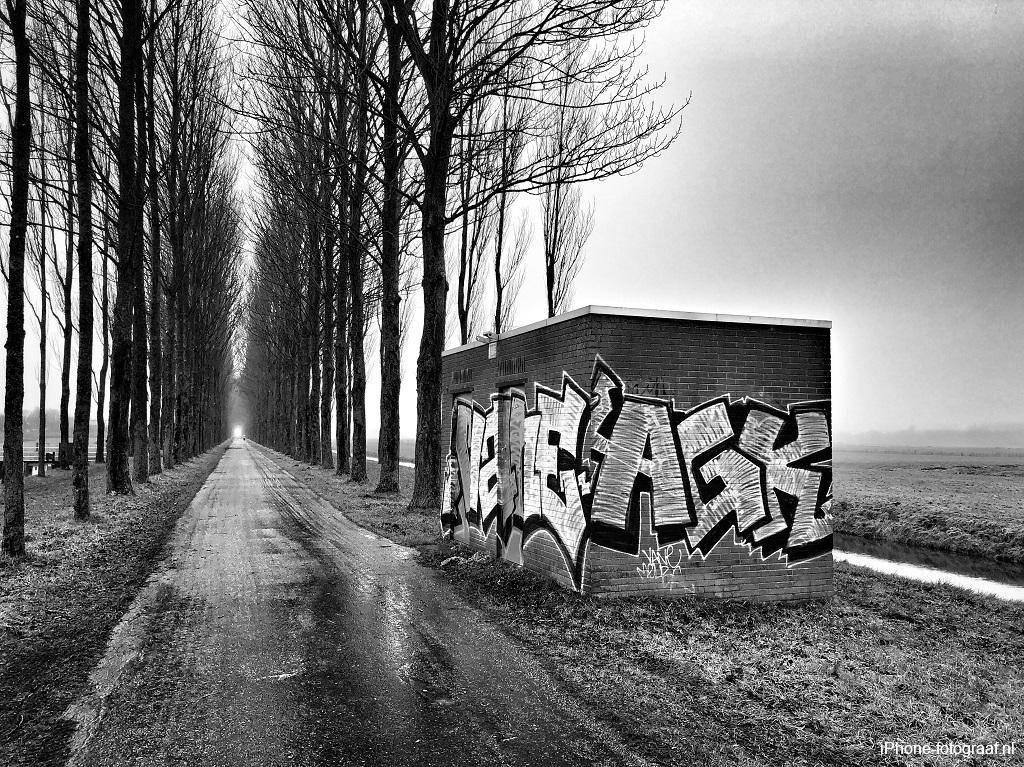 iPhone photo black and white recreation area Kardinge