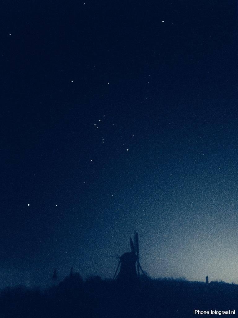 sterren fotograferen met de iphone