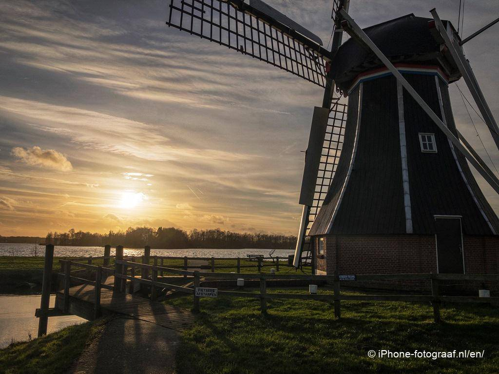 A picture of a windmill