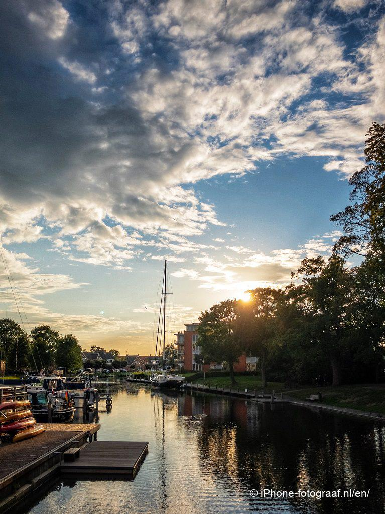 iPhone HDR foto van appingedam. iPhone 8 Plus foto's. Het Raadhuis.