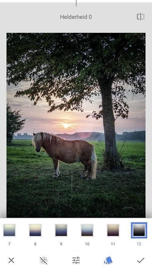Vignettering toevoegen aan je foto's met Snapseed
