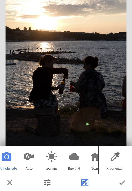 how to change white balance on iphone