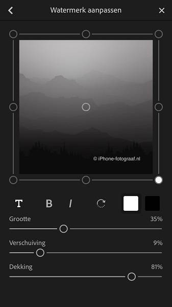 Lightroom CC Mobile.