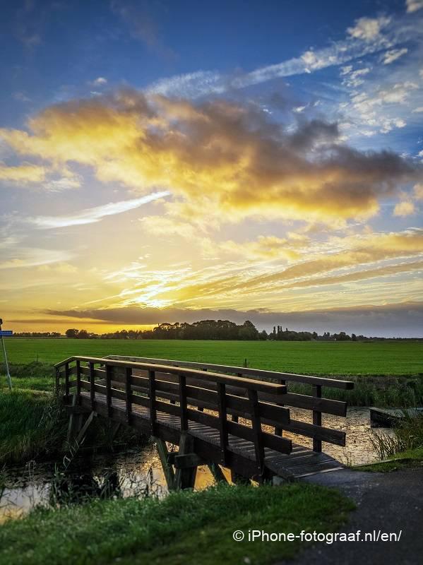 iPhone sunrise picture